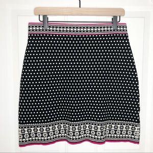 Krimson Klover Knit Petrina Pattern Skirt Sz Large